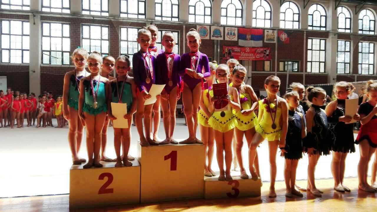 Prvenstvo Srbije za B Grupne vežbe u Ritmičkoj gimnastici