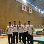 Reprezentacija Muške sportske gimnastike na Trening Kampu 2017 u Japanu