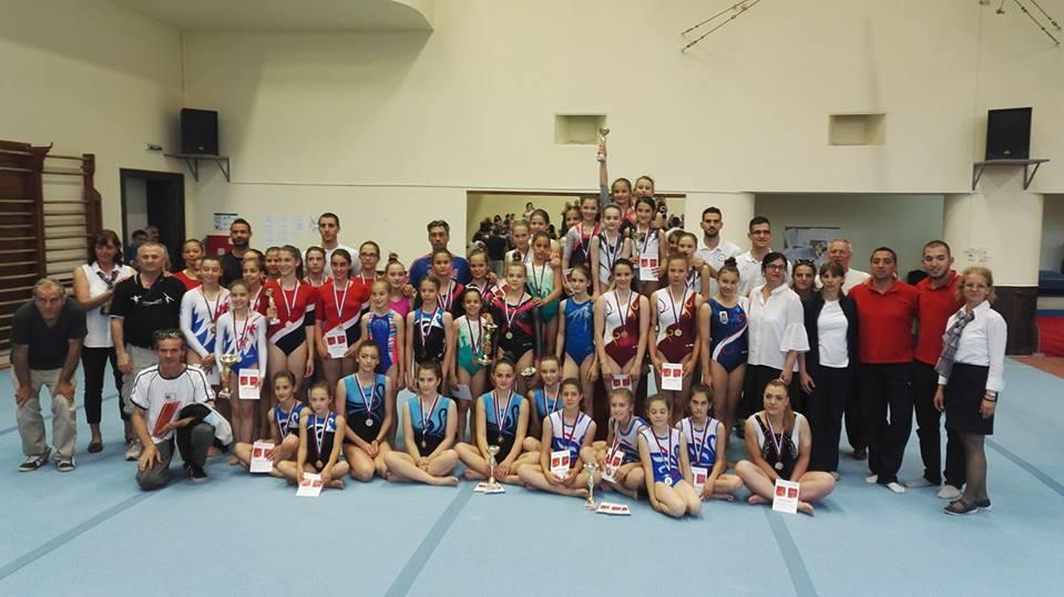 Prvenstvo Srbije u sportskoj gimnastici po kategorijama 2017