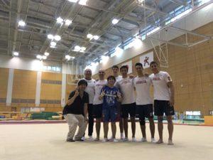 SRB ekipa u JAPANU 2017 na treningu