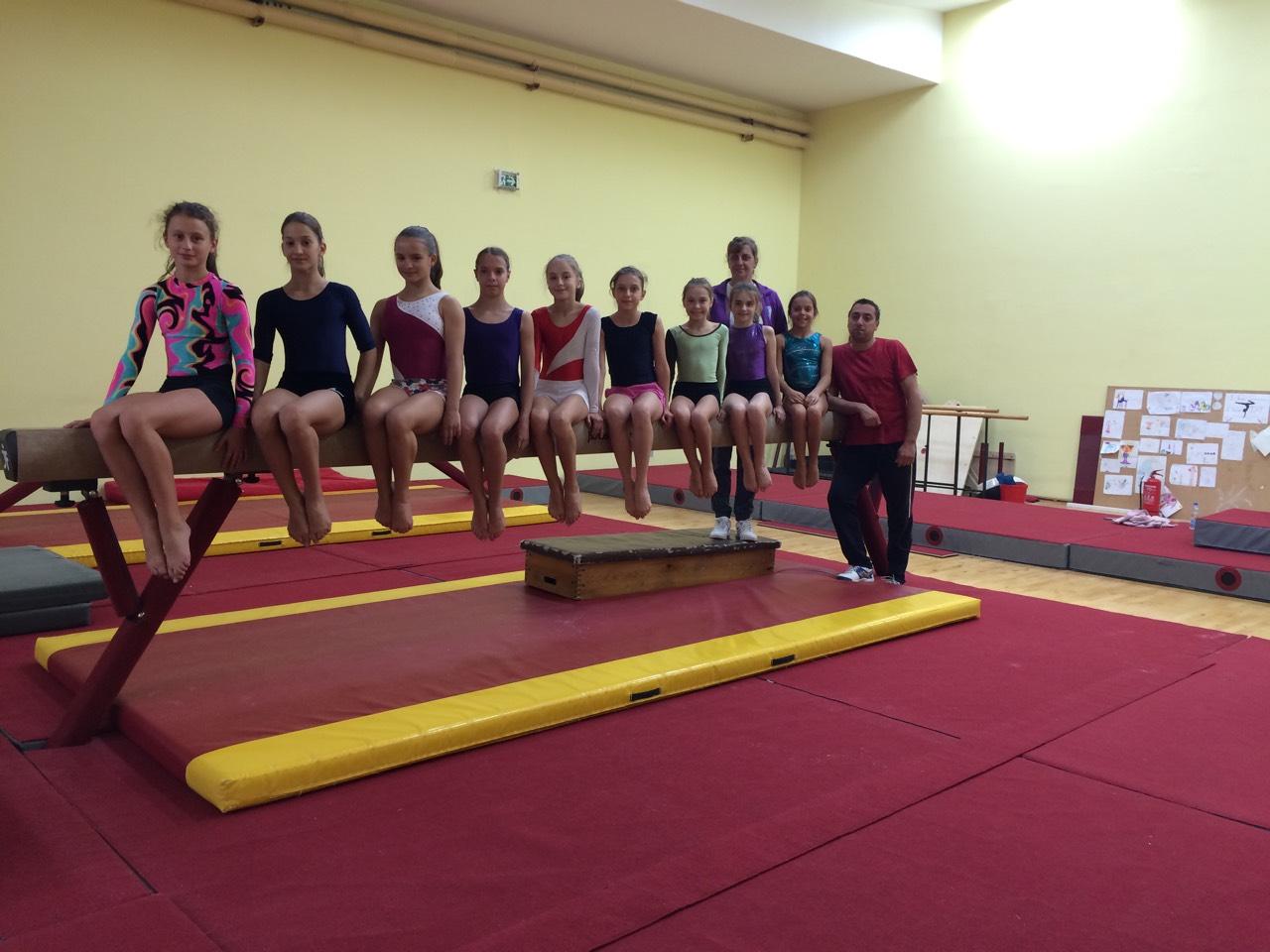 Kamp perspektivnih gimnastičarki Ženske sportske gimnastike – 2017