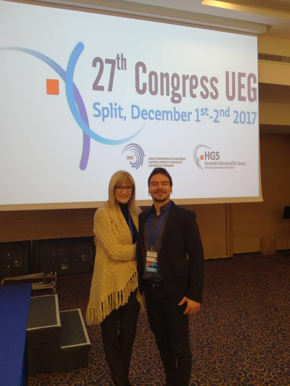 UEG IZBORI 2017 – delegat GSS, Geza Mikeš, u Tehničkom komitetu!