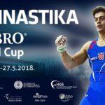 Uspešan početak za reprezentaciju Gimnastičkog saveza Srbije na FIG ART World Challenge Cup-u u Osijeku – Tamara Mrđenović u finalu na dvovisinskom razboju!!!