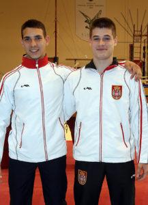 Stefan Veselinovic i Vlada Rakovic
