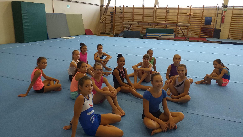 Kamp perspektivnih i talentovanih gimnastičarki GSS ŽSG 2019