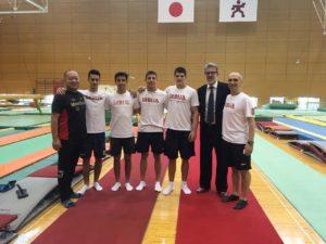 SRB ekipa u JAPANU 2017 sa Ambasadorom