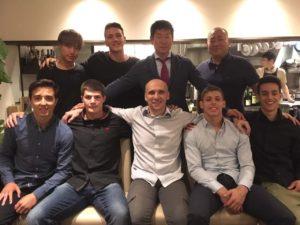 SRB ekipa u JAPANU 2017 sa Watanabeom