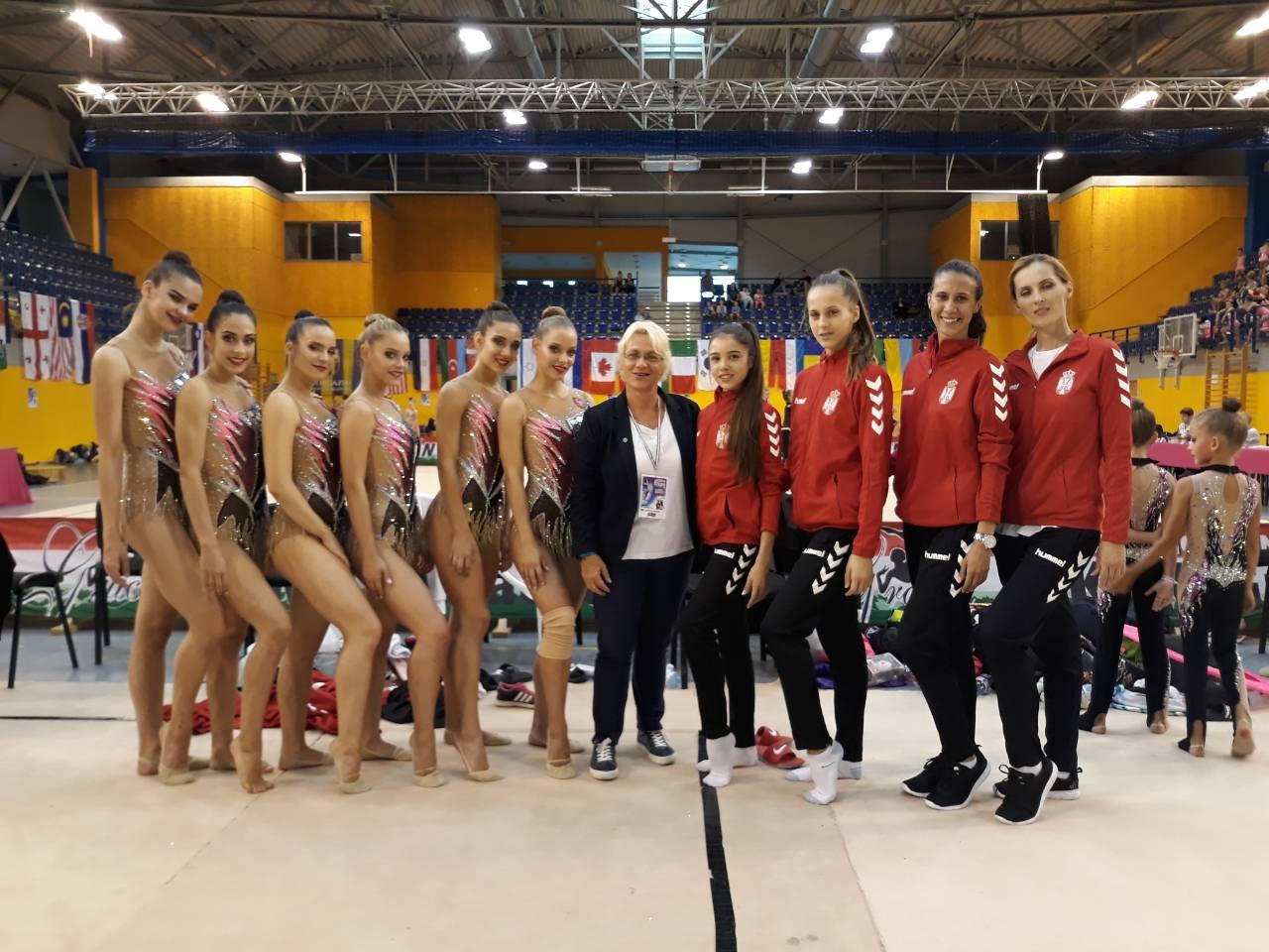 RG Međunarodno takmičenje – GRACIA KUP 2018 – Budimpešta, MAĐARSKA