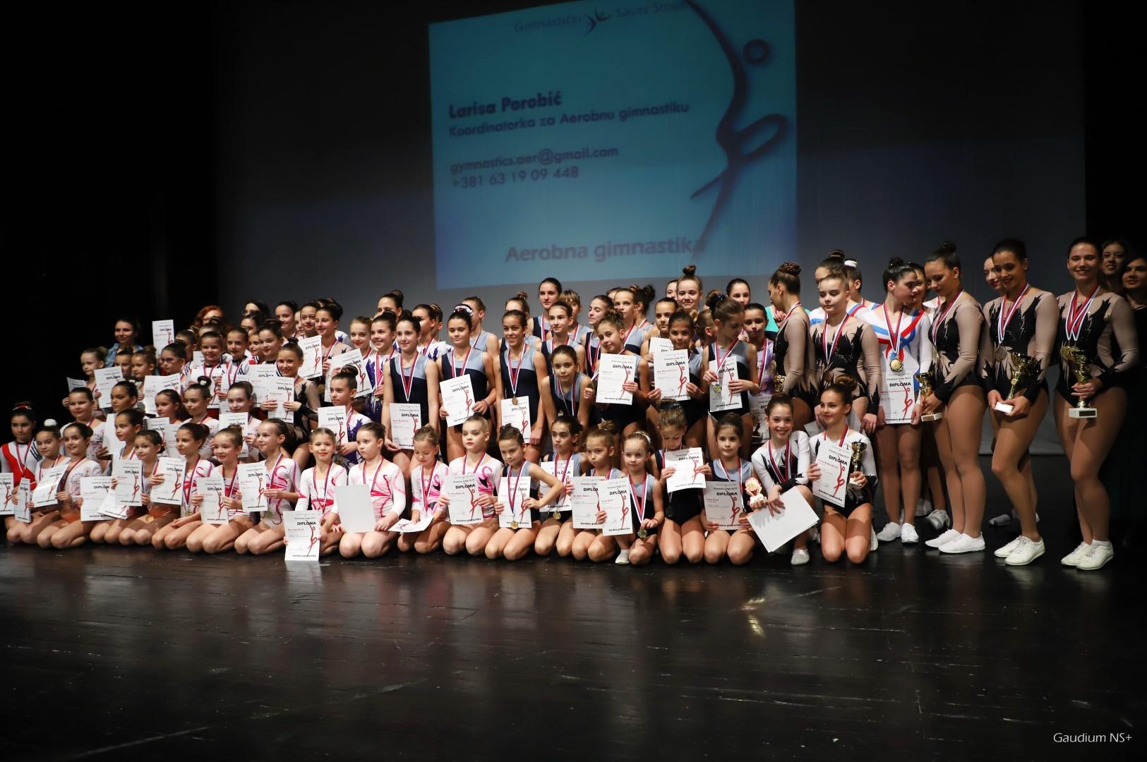 Prvenstvo Srbije u aerobnoj gimnastici